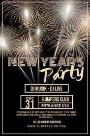 new year s template new years eve party poster template postermywall