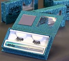 the lash liner system comes with magnetic eyeliner and a set of magnetic eyelashes