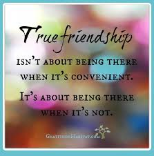 Thoughts About True Friend Ship