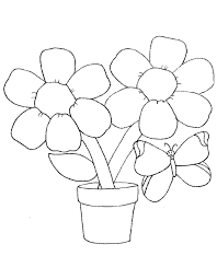 Spring Flowers Colouring Sheets