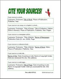 how to cite your sources reference page cite your sources abcteach