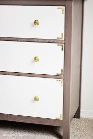 diy ikea hack dresser. beautiful dresser ikea hack mission gray and white painted hemnes dresser inside diy hack
