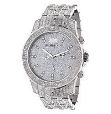 iced out watch iced out watches luxurman mens diamond watch 1 25ct