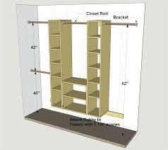 how to build closet shelves custom storage clothes easy organizers