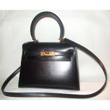 hermes kelly 20. hermès kelly mini 20 cm box rigide noir handbag - photo a16764-c hermes