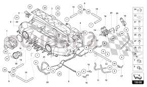 intake manifold for lamborghini aventador lp700 roadster enlarge diagram · Â