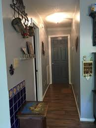 hallway finally. finally danny and i have finished the hallway leading off of kitchen we remodeled in july 2016 but then became ill decided to do l