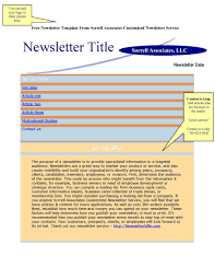 School Newsletter Template For Word Newsletter Templates Free Word Free Classroom Newsletter Templates
