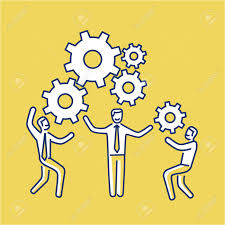 skills images stock pictures royalty skills photos and skills vector teamwork skills icon of businessmans gears bulding engine together modern flat