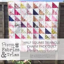 HOME & Half Square Triangle Quilt Adamdwight.com