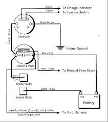 wiring diagram for alternator to battery images wiring your master switch for cars alternators