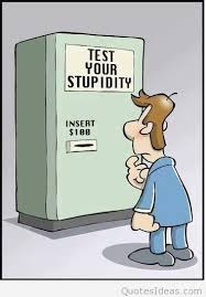 funny test stupidity cartoon saying