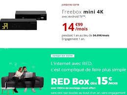 Red by sfr propose des offres à des prix attractifs. Free Ou Red By Sfr Quelle Est La Meilleure Box Fibre Cette Semaine Cnet France