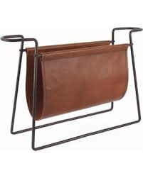 leather magazine rack. Simple Magazine Connaught Leather Magazine Rack In N