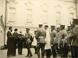 Tsar Nicholas II of Russia, Russian Prime Minister Pyotr Stolypin and  Jewish delegation during the Tsar's visit to Kiev i…   Tsar nicholas ii,  Russia, Tsar nicholas