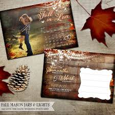 best 25 fall wedding invitations ideas only on pinterest maroon Diy Wedding Invitations Fall Theme fall save the date postcard calendar, fall leaves, hanging lights with mason jar, printable save the date postcards, rustic save the date Fall Color Wedding Invitations