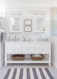 white bathroom vanity. Perfect Vanity Master Bathroom Roseland Project Renovation  Grey And White Bathroom  Home Decorators Austell Furniture Vanity Moen Banbury Faucet EVER Skincare On White Bathroom Vanity E