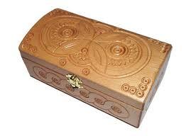 Decorative Ring Boxes Decorative gift box Wedding ring box Wood carving design wedding 89