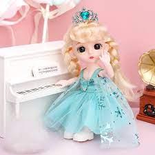 Đồ chơi búp bê barbie elsa cho bé gái chính hãng đáng yêu giá rẻ tốt nhất  tphcm