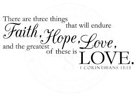 Love Faith Hope Quotes Classy Love Is Quote Corinthians Together With Love Faith Hope Quotes Fair