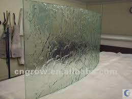 tempered glass panels shower floor house