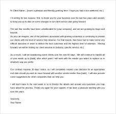 Letter To Terminate Contract With Supplier Termination Letter Template Template Business