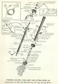 1961 1962 1963 1964 cadillac steering column tube shaft 1955 chevy horn wiring diagram