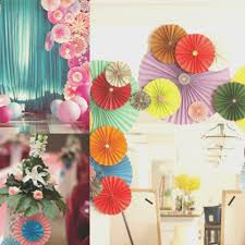 top background decoration for birthday party at home design ideas