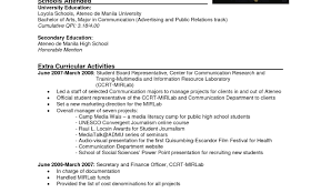 Colorful Example Ng Resume Sa Tagalog Motif Examples Professional
