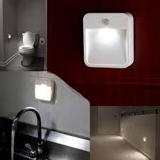 Motion Sensor Stair Lights Battery Powered Motion Sensor Led Light Portable Wide Angled