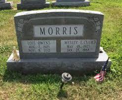 """Wesley Leonard """"Sam"""" Morris (1923-1988) - Find A Grave Memorial"""