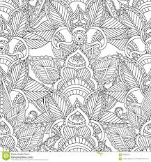 Small Picture Coloring Pages For Adults Seamles Henna Mehndi Doodles Abstract