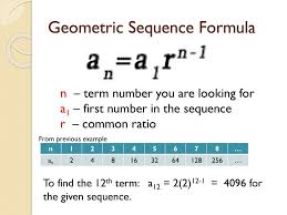 Geometric Sequence Example Geometric Sequences Exponential Functions Ppt Download 13