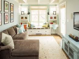 decorate long narrow living room how