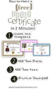 Make An Award Certificate Online Free Free Certificate Maker Make Your Own Personalized Certificates In