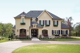 French Country House Exterior (Image 13 of 23)