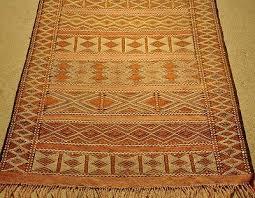 vintage handwoven moroccan wedding rug 4 11 x 3