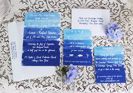 wedding invitations handmade weddings by etsy blue ombre How To Make Watercolor Wedding Invitations watercolor wedding invitations handmade weddings by etsy blue ombre Wedding Invitation Templates
