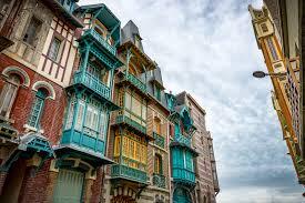 Art Nouveau houses in Mers les Bains Somme France 1600x1067 via.