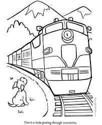 Small Picture Big Train Coloring Pages Coloring Pages