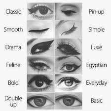 diffe 25 best ideas about clic eyeliner on cat eye tutorial makeup tutorial eyeliner and cat