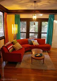 living room with red furniture. dream living room u003c ooooh this is perty with red furniture r