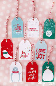 Like last year, this year that color is red. Printable Christmas Gift Tags Skip To My Lou