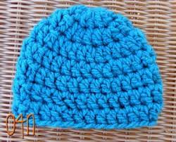 Bulky Yarn Crochet Hat Patterns Inspiration Basic Chunky Newborn Beanie AllFreeCrochet