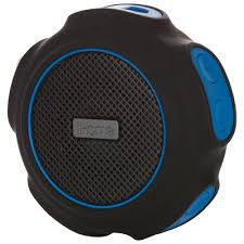 waterproof portable bluetooth speakers. ihome waterproof portable bluetooth speaker (ibt82blc) - black/blue speakers best buy canada