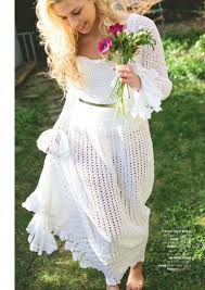 Crochet Wedding Dress Pattern Mesmerizing Retro Wedding Dress Crochet Pattern ⋆ Crochet Kingdom