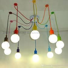 nursery ceiling lighting. E27 Spider Colored Pendant Lighting Children S Room Bedroom Throughout Childrens Ceiling Lights Decorations 11 Nursery