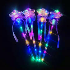 Light Wand Toy Original Light Up Magic Ball Toy Wand Glow Stick Witch Wizard Led Magic Wands Rave Toy Great For Home Birthdays Party Decoration