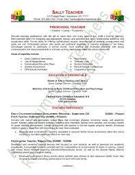 Resume Of Teacher Sample Marieclaireindia Com