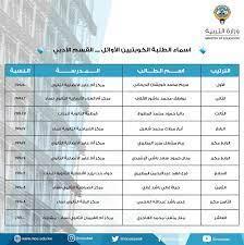 موقع نتائج الثانوية العامة الكويت 2021 وزارة التربية والتعليم موقع المربع  الإلكتروني وأسماء الأوائل